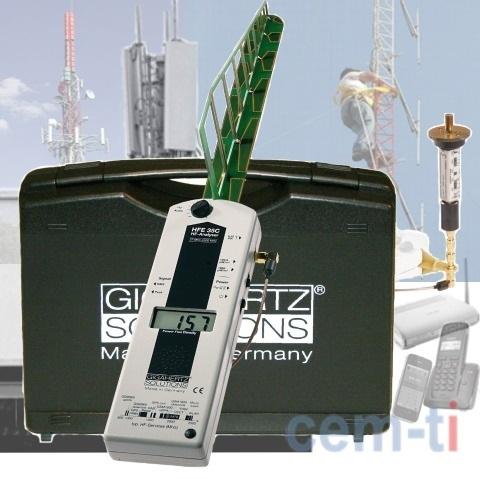 EMF METER HFE35C WITH UBB ANTENNA Gigahertz-Solutions